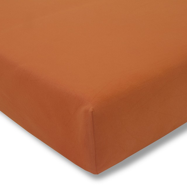 Zwirnjersey terracotta Exquisit