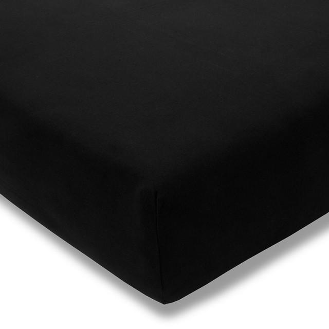 Zwirnjersey Topper schwarz Exquisit